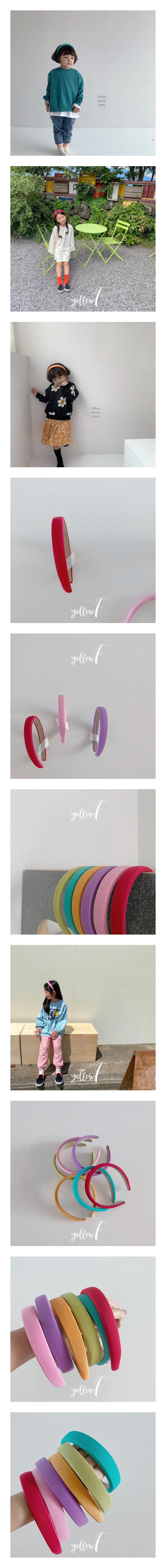 YELLOW FACTORY - Korean Children Fashion - #Kfashion4kids - Haro Hairband [set of 6]
