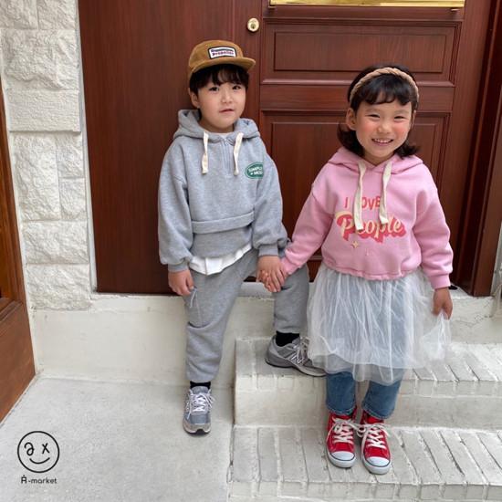 A-MARKET - Korean Children Fashion - #Kfashion4kids - People One-piece - 10