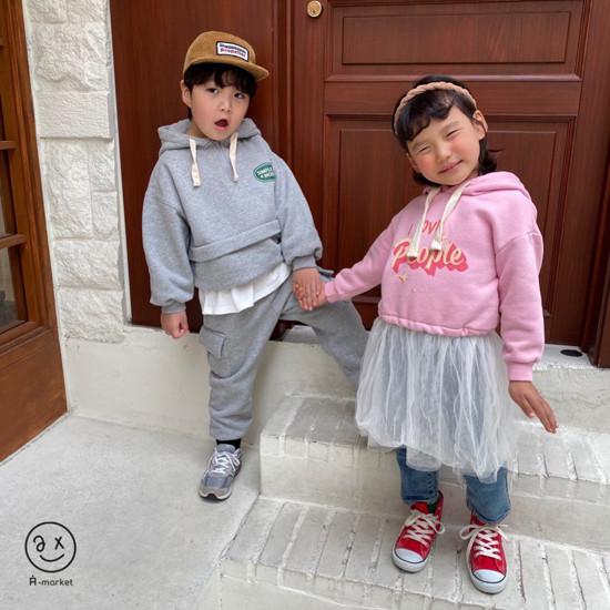 A-MARKET - Korean Children Fashion - #Kfashion4kids - People One-piece - 11