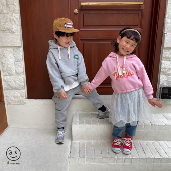A-MARKET - Korean Children Fashion - #Kfashion4kids - People One-piece - 12