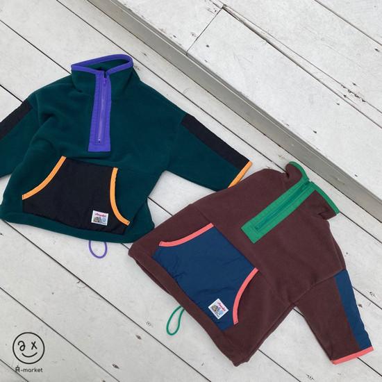 A-MARKET - Korean Children Fashion - #Kfashion4kids - Camper Fleece Top