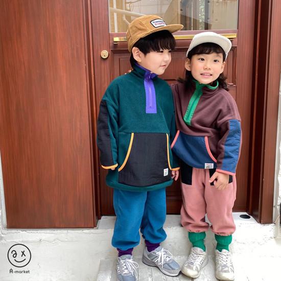 A-MARKET - Korean Children Fashion - #Kfashion4kids - Camper Fleece Top - 10