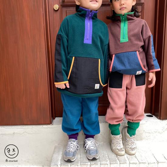 A-MARKET - Korean Children Fashion - #Kfashion4kids - Camper Fleece Top - 11