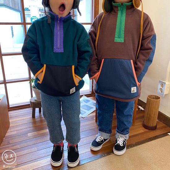 A-MARKET - Korean Children Fashion - #Kfashion4kids - Camper Fleece Top - 3