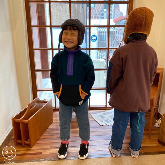 A-MARKET - Korean Children Fashion - #Kfashion4kids - Camper Fleece Top - 5