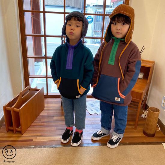 A-MARKET - Korean Children Fashion - #Kfashion4kids - Camper Fleece Top - 6