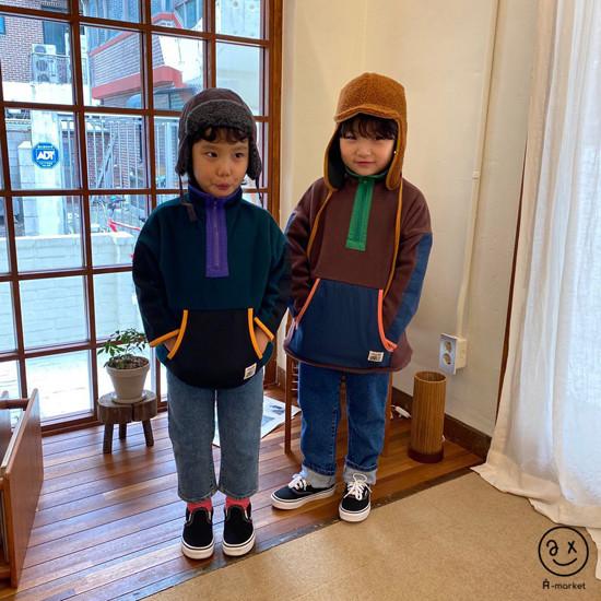 A-MARKET - Korean Children Fashion - #Kfashion4kids - Camper Fleece Top - 7