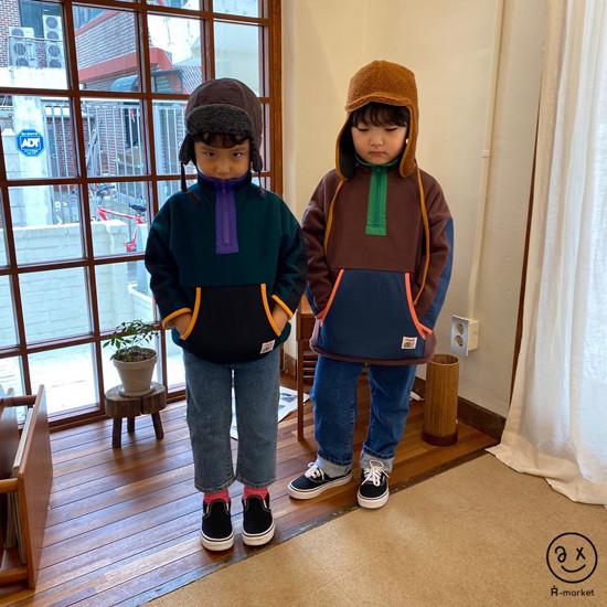 A-MARKET - Korean Children Fashion - #Kfashion4kids - Camper Fleece Top - 8