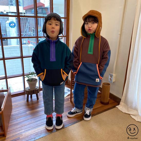A-MARKET - Korean Children Fashion - #Kfashion4kids - Camper Fleece Top - 9