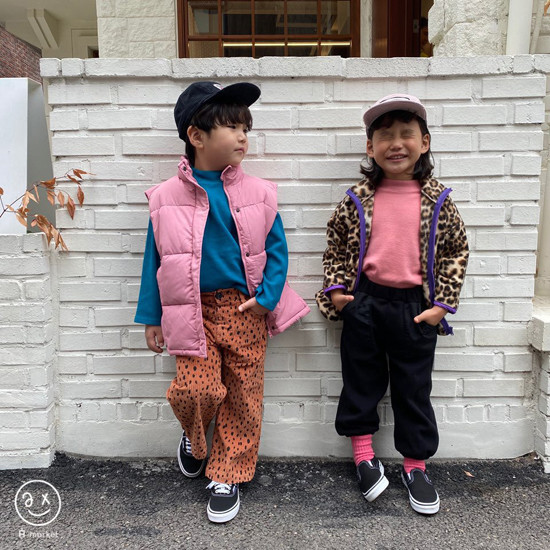 A-MARKET - Korean Children Fashion - #Kfashion4kids - Leopard Zip-up Jacket - 5