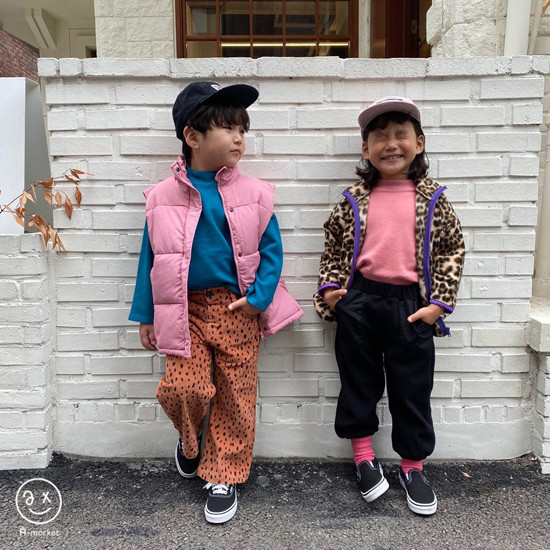 A-MARKET - Korean Children Fashion - #Kfashion4kids - Leopard Zip-up Jacket - 6