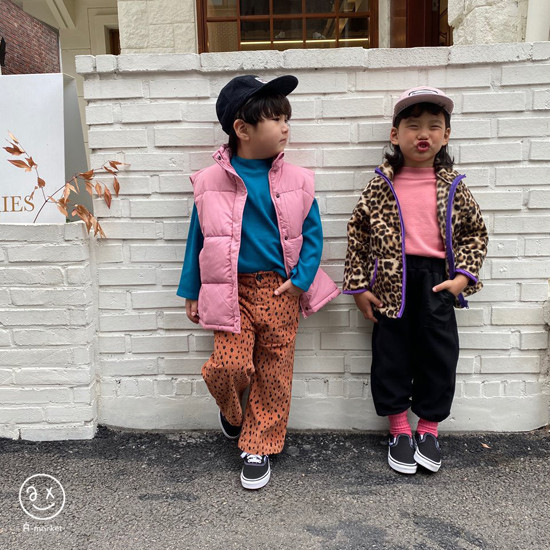A-MARKET - Korean Children Fashion - #Kfashion4kids - Leopard Zip-up Jacket - 8