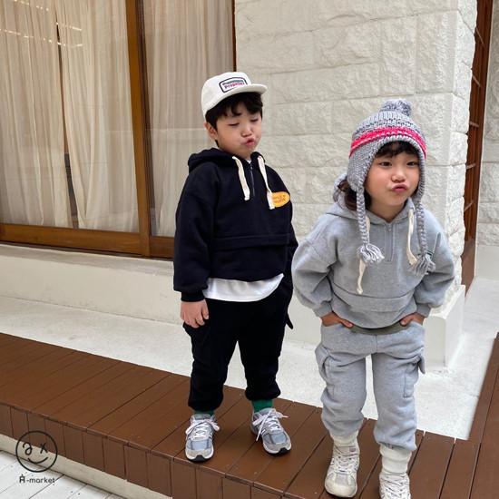 A-MARKET - Korean Children Fashion - #Kfashion4kids - Fleece Jogger Pants - 10
