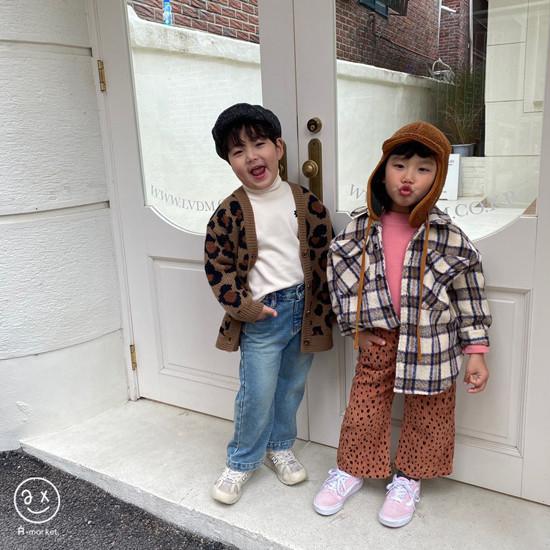 A-MARKET - Korean Children Fashion - #Kfashion4kids - Wool Check Shirt - 11