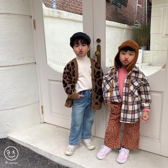 A-MARKET - Korean Children Fashion - #Kfashion4kids - Wool Check Shirt - 12