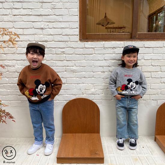 A-MARKET - Korean Children Fashion - #Kfashion4kids - Basic Denim Pants - 10