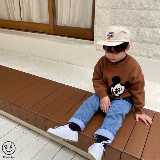 A-MARKET - Korean Children Fashion - #Kfashion4kids - Basic Denim Pants - 11