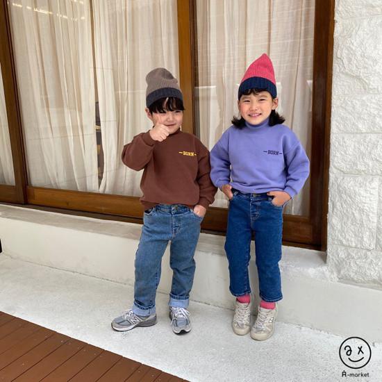 A-MARKET - Korean Children Fashion - #Kfashion4kids - Basic Denim Pants - 12