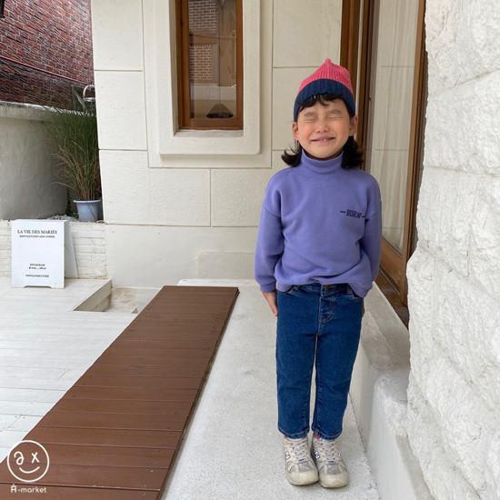 A-MARKET - Korean Children Fashion - #Kfashion4kids - Basic Denim Pants - 5