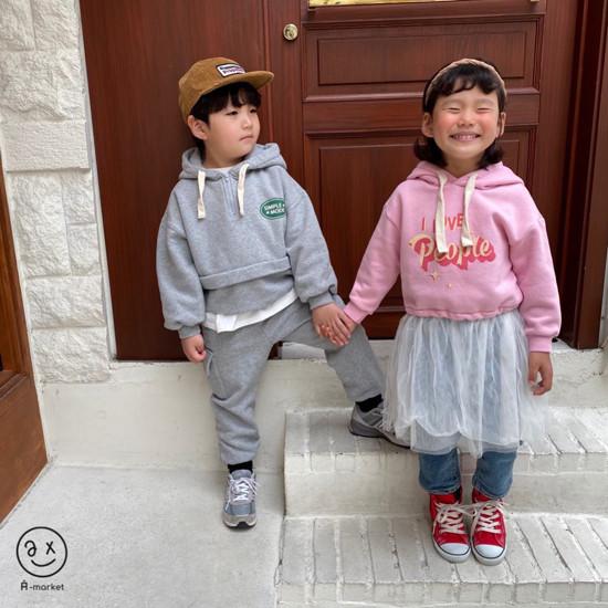 A-MARKET - Korean Children Fashion - #Kfashion4kids - Basic Denim Pants - 7