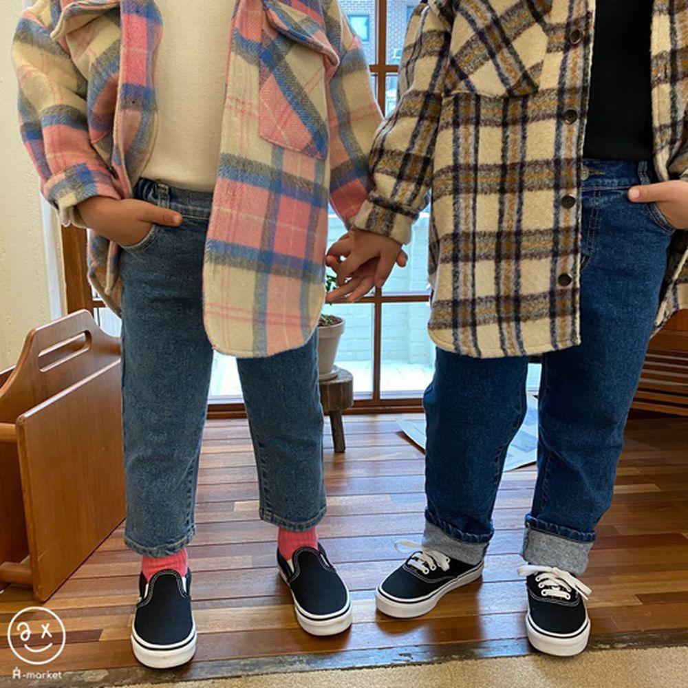 A-MARKET - BRAND - Korean Children Fashion - #Kfashion4kids - Basic Denim Pants