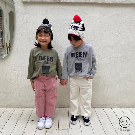 A-MARKET - Korean Children Fashion - #Kfashion4kids - Cotton Pants  - 12