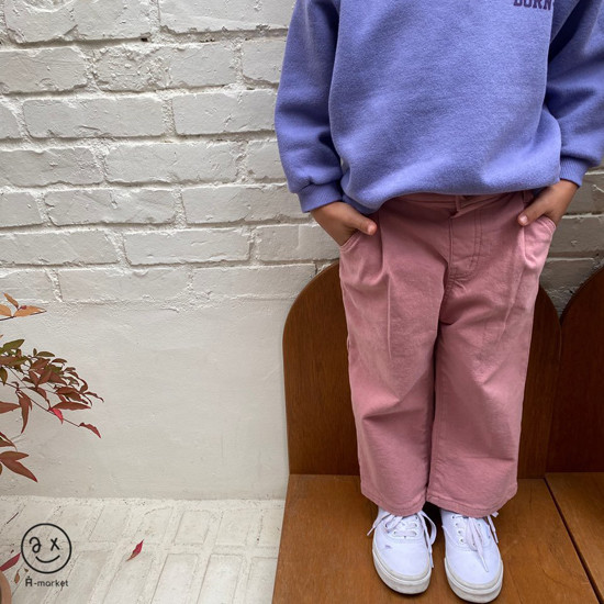 A-MARKET - Korean Children Fashion - #Kfashion4kids - Cotton Pants  - 2