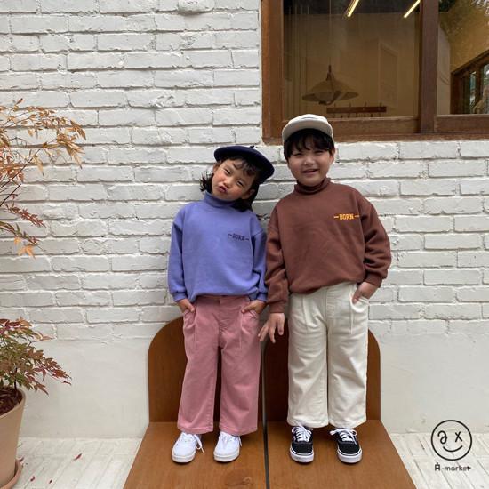 A-MARKET - Korean Children Fashion - #Kfashion4kids - Cotton Pants  - 5