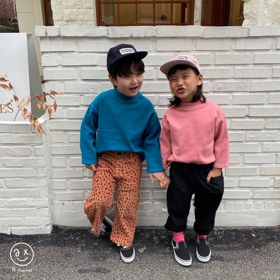 A-MARKET - Korean Children Fashion - #Kfashion4kids - Leopard Wide Pants - 12