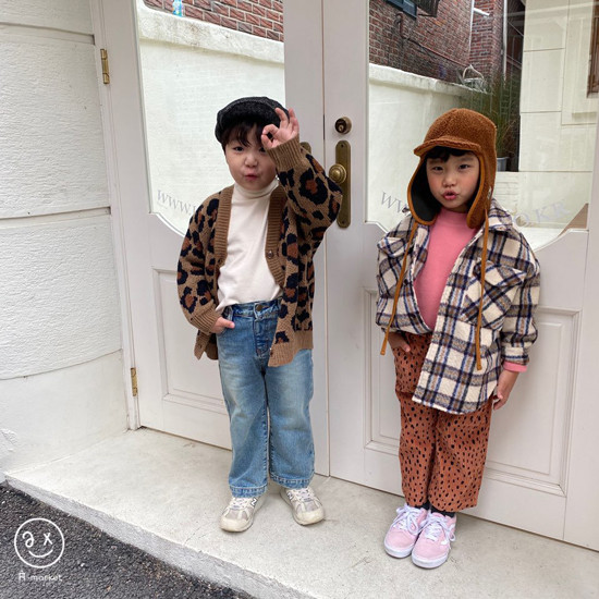A-MARKET - Korean Children Fashion - #Kfashion4kids - Leopard Wide Pants - 5