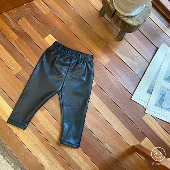 A-MARKET - Korean Children Fashion - #Kfashion4kids - Fleece Shining Leggings