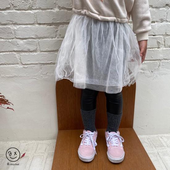 A-MARKET - Korean Children Fashion - #Kfashion4kids - Fleece Shining Leggings - 11