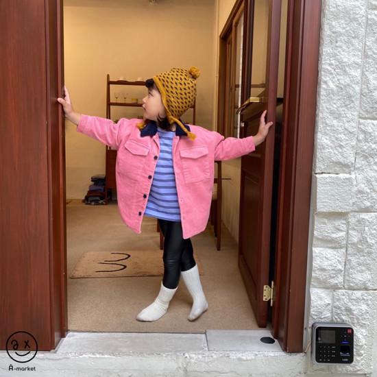 A-MARKET - Korean Children Fashion - #Kfashion4kids - Fleece Shining Leggings - 4