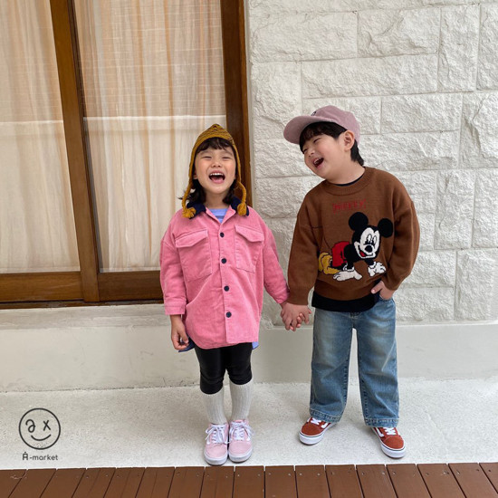 A-MARKET - Korean Children Fashion - #Kfashion4kids - Fleece Shining Leggings - 6