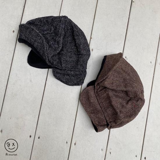 A-MARKET - Korean Children Fashion - #Kfashion4kids - Herringbone Hat