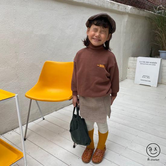 A-MARKET - Korean Children Fashion - #Kfashion4kids - Herringbone Hat - 2