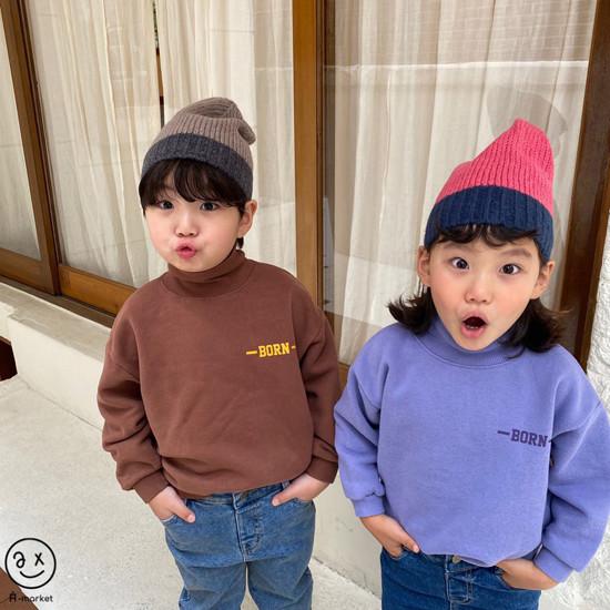 A-MARKET - Korean Children Fashion - #Kfashion4kids - Colored Beanie - 10