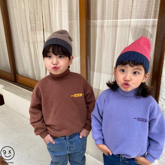 A-MARKET - Korean Children Fashion - #Kfashion4kids - Colored Beanie - 11
