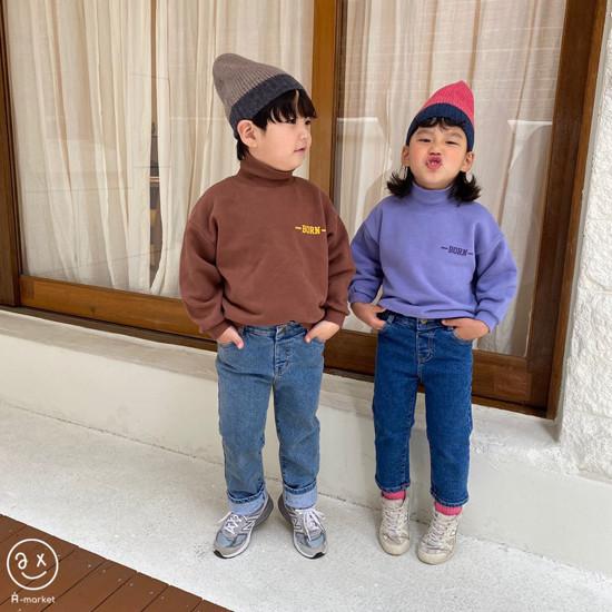A-MARKET - Korean Children Fashion - #Kfashion4kids - Colored Beanie - 12