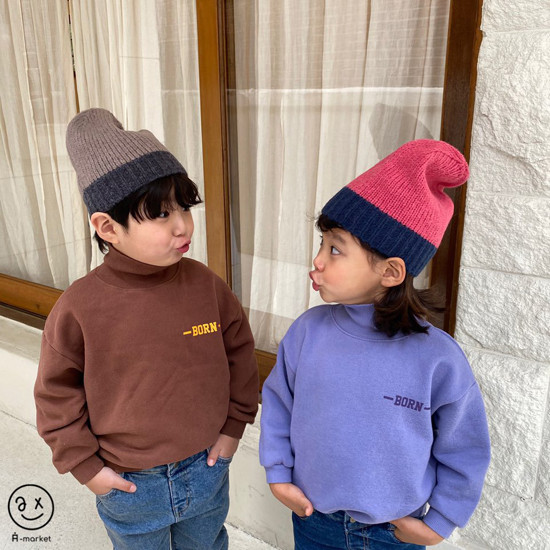 A-MARKET - Korean Children Fashion - #Kfashion4kids - Colored Beanie - 2