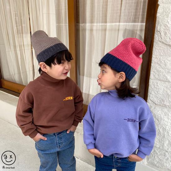 A-MARKET - Korean Children Fashion - #Kfashion4kids - Colored Beanie - 9