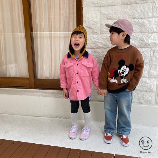 A-MARKET - Korean Children Fashion - #Kfashion4kids - Leopard Muffler & Hat Set - 9