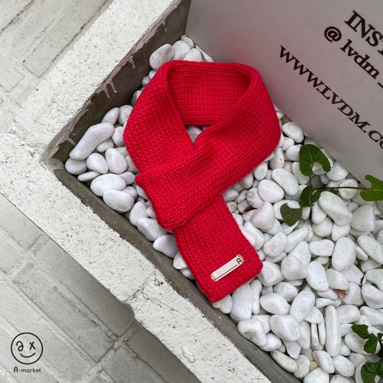 A-MARKET - Korean Children Fashion - #Kfashion4kids - Knit Muffler