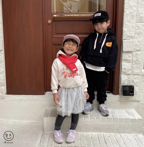 A-MARKET - Korean Children Fashion - #Kfashion4kids - Knit Muffler - 10