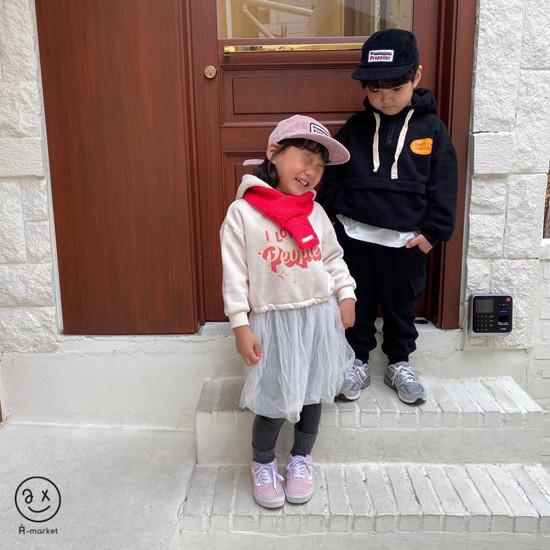 A-MARKET - Korean Children Fashion - #Kfashion4kids - Knit Muffler - 11