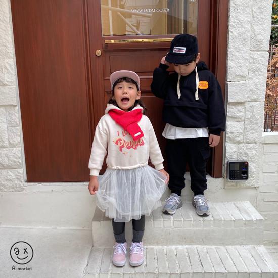 A-MARKET - Korean Children Fashion - #Kfashion4kids - Knit Muffler - 2