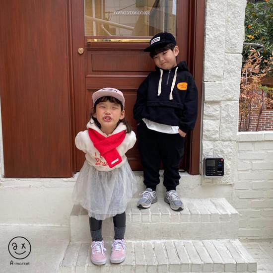 A-MARKET - Korean Children Fashion - #Kfashion4kids - Knit Muffler - 3