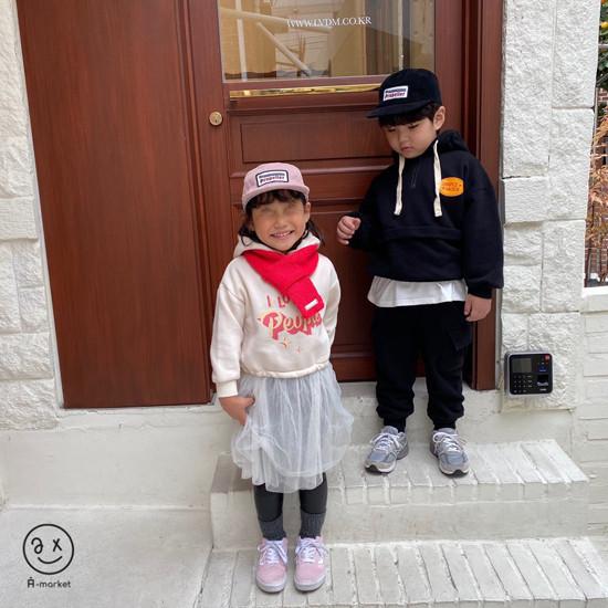 A-MARKET - Korean Children Fashion - #Kfashion4kids - Knit Muffler - 4