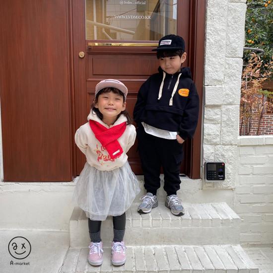 A-MARKET - Korean Children Fashion - #Kfashion4kids - Knit Muffler - 5