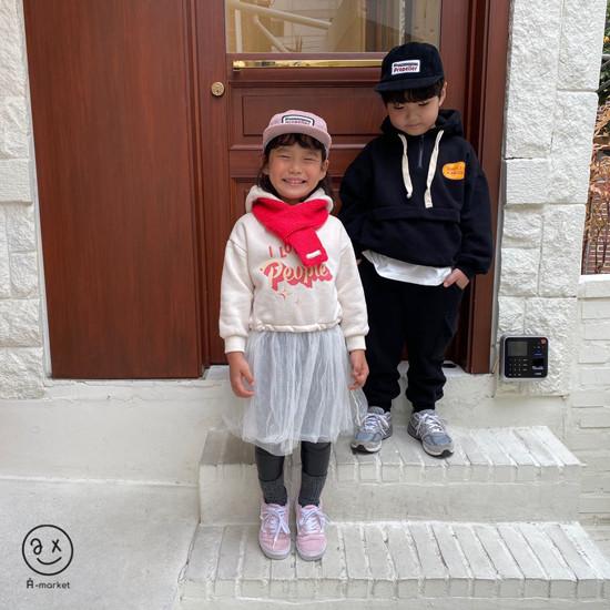 A-MARKET - Korean Children Fashion - #Kfashion4kids - Knit Muffler - 7
